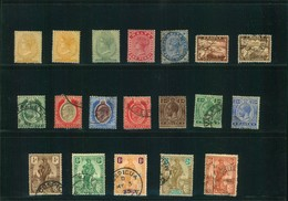 1860/1922, MALTA: Smal Lot Victoria, Edwad VII, Georg V Used And Unused - Timbres