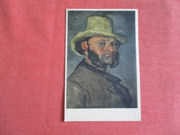 Man With A Straw Hat  Ref 3050 - Paintings