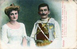MONTENEGRO(FAMILLE ROYALE) CETINJE - Montenegro