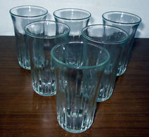 SEI (6) BICCHIERI H 10 CM. VINTAGE - Glazen