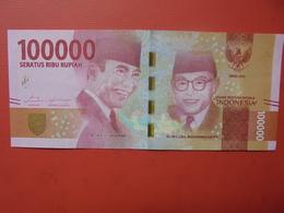 INDONESIE 100.000 RUPIE PRESQUE UNC - Indonesia