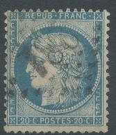 Lot N°44424   N°37, Oblit GC 281 Bannières-de-Bigorre, Hautes-Pyrénées (63), Ind 2 - 1870 Siege Of Paris