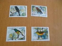 TP Sans Charnière Mayotte N° 134 à 137  2002 Oiseaux Birds - Mayotte (1892-2011)