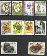 TEN AT A TIME - IRAQ - LOT OF 10 DIFFERENT COMMEMORATIVE 18  - USED OBLITERE GESTEMPELT USADO - Iraq