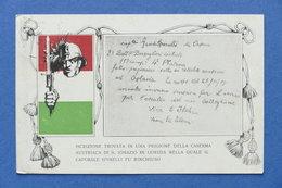 Cartolina Militaria - 2° Battaglione Ciclisti - 1917 - Régiments