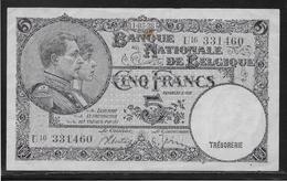 Belgique - 5 Francs  - Pick N° 108 - TTB - 5 Francs