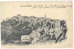 Cpa Grèce -  Vue De Phira  ( Capitale De Santorin ) - Greece