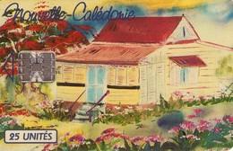 TARJETA TELEFONICA DE NUEVA CALEDONIA. Refuge Au Flamboyant - NC-021 (001) - New Caledonia