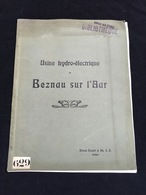 RARE Monographie Usine électrique Beznau Sur L'aar Par Brown Boveri Baden Allemangne Deutschland Rhin - France