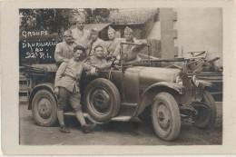 15 - AURILLAC - Carte-photo - Groupe D'Aurillacois (139e R.I.) Au 92e R.I. (Clermont-Ferrand) - Automobile - 1929 - Aurillac