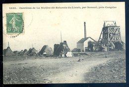 Cpa Du 53 Carrières De La Rivière St Saturnin Du Limet , Par Renazé , Près Congrier   Aout18-8 - Autres Communes