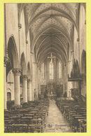 * Waremme - Borgworm (Liège - La Wallonie) * (Nels) Intérieur De L'église, Binnenzicht Kerk, Church, Autel, Rare - Borgworm