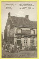 * De Panne - La Panne (Kust - Littoral) * Café Station Du Tram, J. De Decker Vormezeele, Oldtimer, TOP, Unique, Rare - De Panne