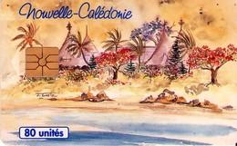 TARJETA TELEFONICA DE NUEVA CALEDONIA. Cases Et Lagon - NC-022 (008) - New Caledonia