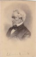 US - Edward Everett - Senator - Original Signiture - Photo 60x95mm - Fotos Dedicadas