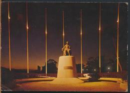 °°° 11383 - VENEZUELA - CARACAS - MONUMENTO A ANDRES BELLO - 1980 With Stamps °°° - Venezuela