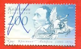 Kazakhstan 2005. Hans Christian Andersen. Used Stamp. - Kazakhstan