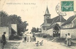 21 BINGES  Entrée Du Village  2scans - Francia
