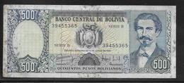 Bolivie - 500 Pesos  - Pick N° 166 - TB - Bolivia
