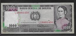 Bolivie - 1000 Pesos  - Pick N° 167 - TTB - Bolivie