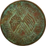 Monnaie, Chine, HUNAN PROVINCE, 20 Cash, 1919, TB+, Cuivre, KM:400.11 - China