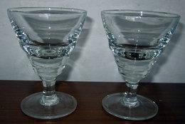 DUE (2) BICCHIERI H 10 CM. - Bicchieri