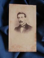 Photo CDV Annonyme - Second Empire Portrait Nuage Luciens Ferlus En 1865 L389D - Photographs
