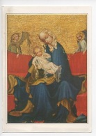 "Jindrichfv Hradec ""La Vierge"" Maître De Bohême Tchécoslovaquie (Narodni) Cp Double Vierge - Arts"