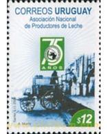Ref. 217648 * MNH * - URUGUAY. 2008. 75th ANNIVERSARY OF MILK PRODUCERS . 75 ANIVERSARIO DE LA ASOCIACION DE PRODUCTORES - Cars