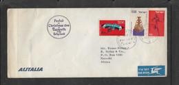 "ALITALIA Envelope, ""Posted Christmas Eve At Nazareth"" Air Mail, NAZARETH 24.12.64 C.d.s. > Nairobi, Africa. - Israël"