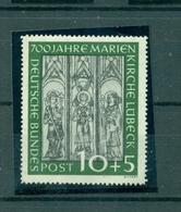 Bund, Marienkirche Lübeck, Nr. 139 Postfrisch ** - Neufs