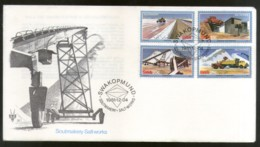 South West Africa 1981 Salt Making Plant Machine FDC # 16126 - Factories & Industries