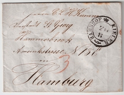 "1840, "" KIELER - BAHNHOF "" ,  #a927 - Schleswig-Holstein"