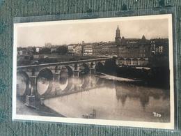 82 Montauban 1932 Vieux Pont Musee Ingres  Clocher - Montauban
