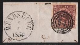 1854,  Rendsburg , Dänemark Nr. 1 ,  #a929 - Schleswig-Holstein