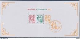 Marianne Et La Jeunesse 2013, Bloc Souvenir N°82 - Blocs Souvenir