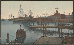 Portsmouth Harbour, Hampshire, C.1905-10 - Postcard - Portsmouth