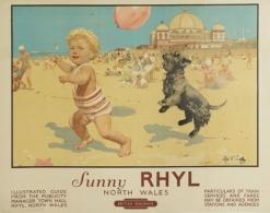 @@@ MAGNET - SUNNY RHYL. Circa 1955. - Reklame