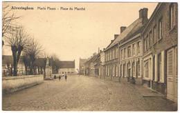 Alveringhem - Markt Plaats 19.. Place Du Marché (Geanimeerd) - Alveringem