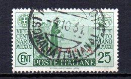 ITALIA COLONIE SOMALIA 1931 CANCELLED At - Somalia