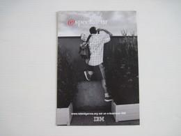 CPM    Espectateur IBM Roland Garros  T.B.E. - Publicité