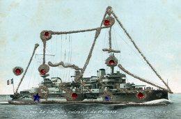 BATEAU DE GUERRE VOILIER LE SUFFREN - Warships