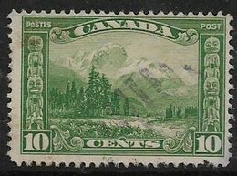 Canada, George V, 1928, 10 Cents, Used - 1911-1935 Reign Of George V