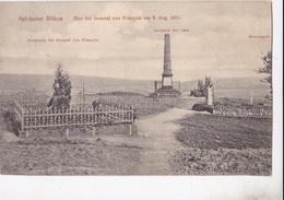SPICHERER HOHEN - HIER FIEL GENERAL VON FRANCOIS AM 6 AUG. 1870    VG   AUTENTICA 100% - Sonstige