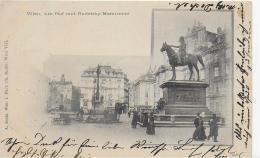 AK 0019  Wien - Am Hof Und Radetzky-Monument / Verlag Sockl Um 1900 - Wien Mitte
