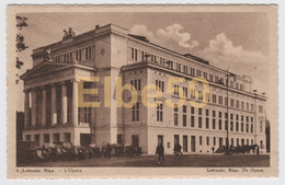Lettonie, Riga, L'Opéra, Carte Pub Chocolat Martougin, Neuve - Lettonia