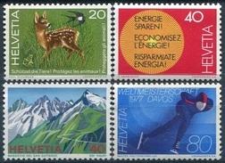 SUISSE - Y&T  N° 1009-1012 ** - Suisse