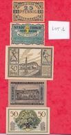 Allemagne 9 Notgeld Dans L 'état  (PORT GRATUIT POUR LA FRANCE) Lot N °1 - [ 3] 1918-1933 : Weimar Republic