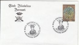 72773- SALVO D'ACQUISTO, ITALIAN CARABINIERI, WW2 HERO, HISTORY, SPECIAL POSTMARKS ON COVER, 1992, ITALY - Seconda Guerra Mondiale