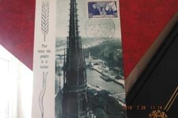 Rare Carte Cachet 1948 Foire Exposition De Cholet - Gedenkstempel